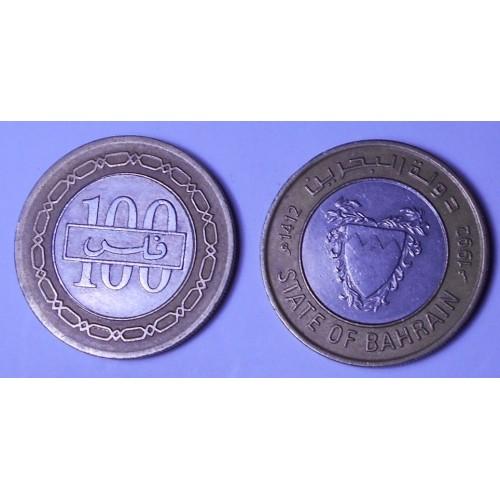 BAHRAIN 100 Fils 1992...
