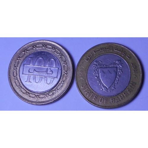 BAHRAIN 100 Fils 1997...