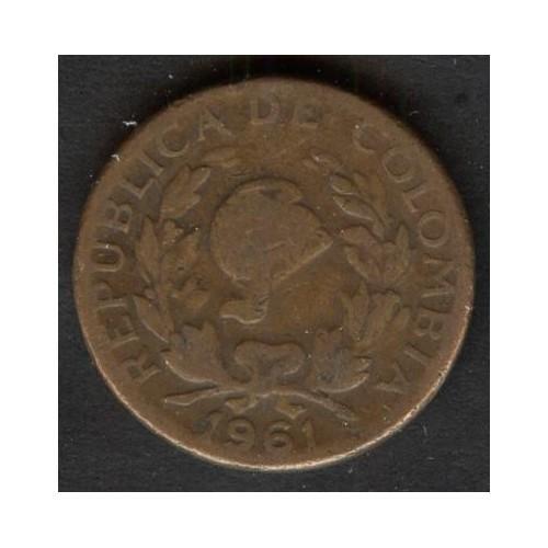 COLOMBIA 5 Centavos 1961