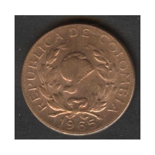 COLOMBIA 5 Centavos 1965