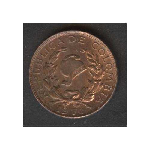 COLOMBIA 1 Centavo 1970