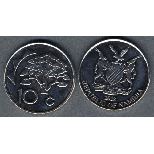 NAMIBIA 10 Cents 2012