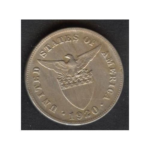 PHILIPPINES 5 Centavos 1920