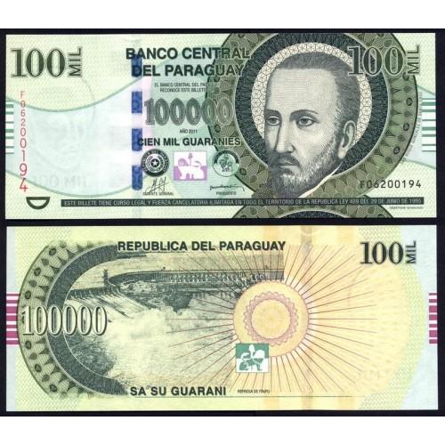 PARAGUAY 100.000 Guaranies...