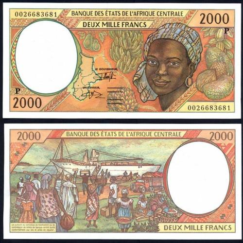CHAD (C. A. S.) 2000 Francs...