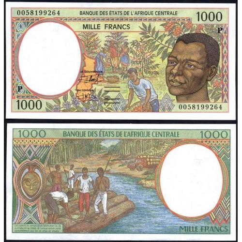 CHAD (C. A. S.) 1000 Francs...