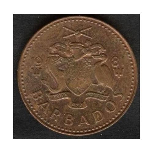 BARBADOS 1 Cent 1981