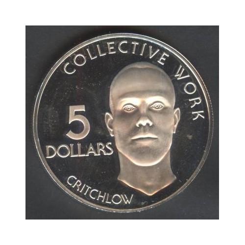 GUYANA 5 Dollars 1976 Ann....