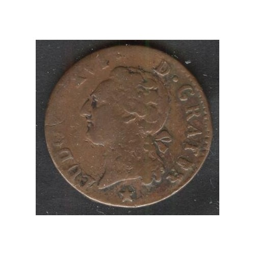 FRANCE 1/2 Sol 1788 MA