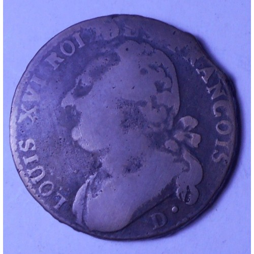 FRANCE 12 Deniers 1793 D...