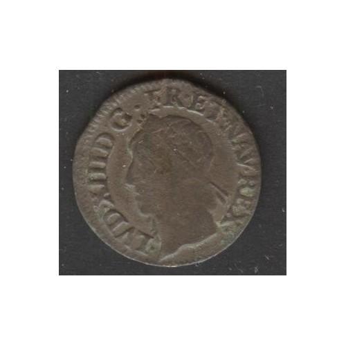 FRANCE Double Tournois 1642...