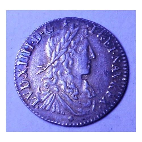 FRANCE 1/12 Ecu AG 1662 D...