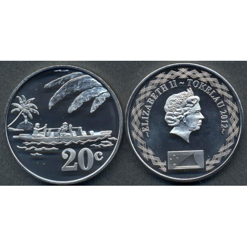 TOKELAU 20 Cents 2012