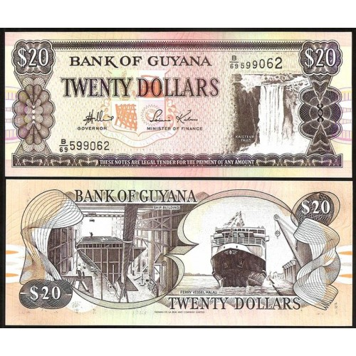 GUYANA 20 Dollars 2006