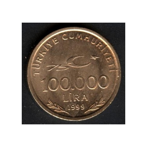 TURKEY 100.000 Lira 1999...