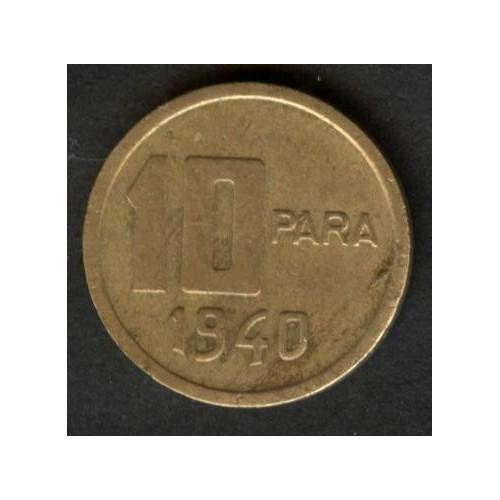 TURKEY 10 Para 1940