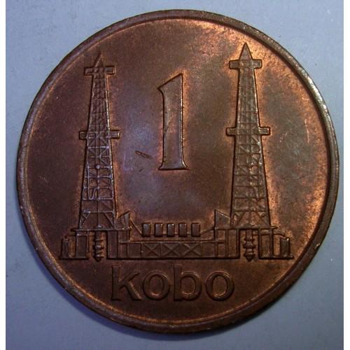 NIGERIA 1 Kobo 1974