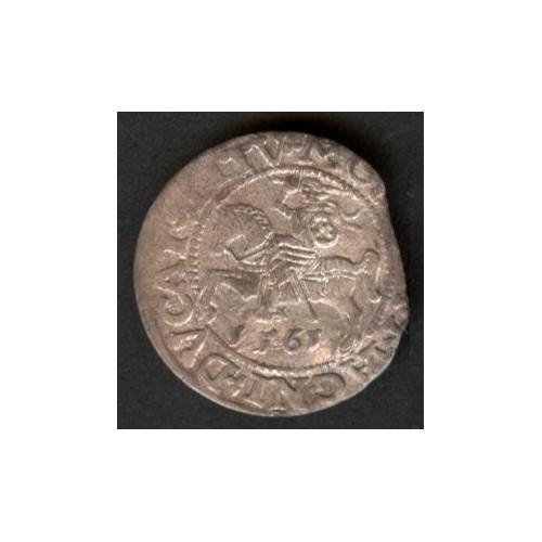 POLAND 1 Groschen 1561 AG...