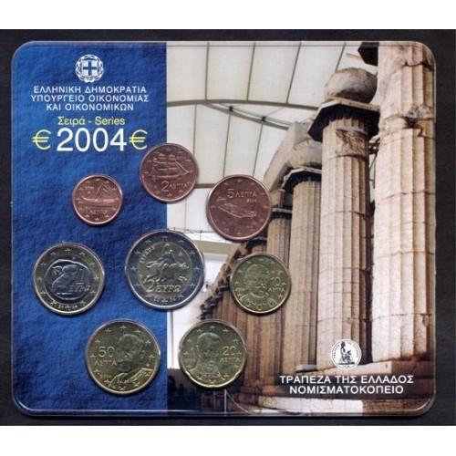 GREECE Official Euro Set 2004