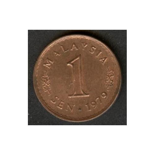 MALAYSIA 1 Sen 1979