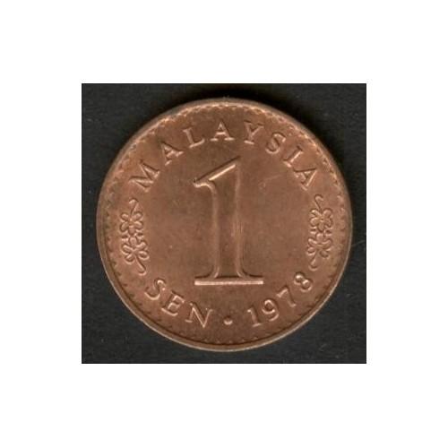 MALAYSIA 1 Sen 1978