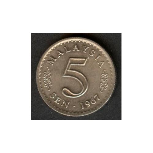 MALAYSIA 5 Sen 1967
