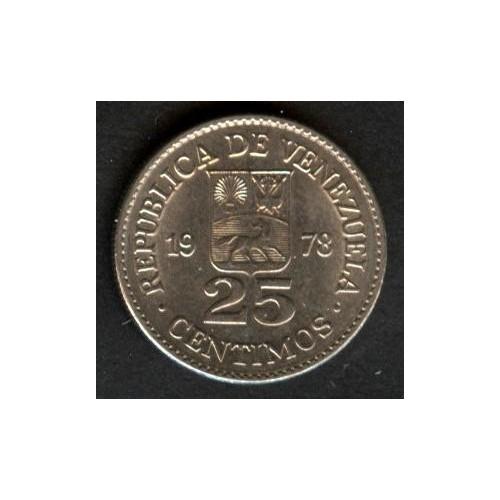 VENEZUELA 25 Centimos 1978