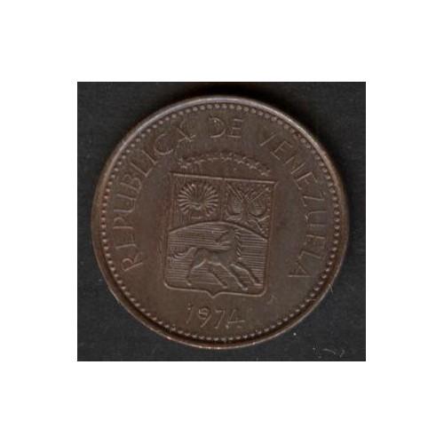 VENEZUELA 5 Centimos 1974