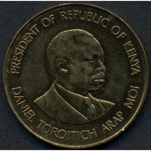 KENYA 10 Cents 1987