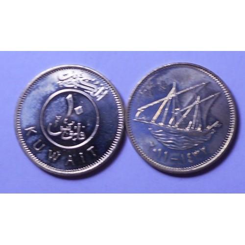 KUWAIT 10 Fils 2011