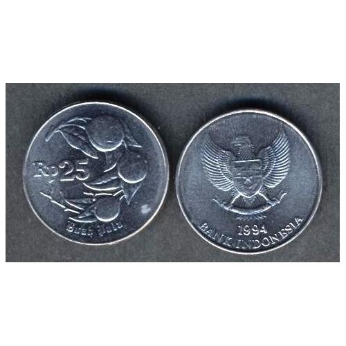 INDONESIA 25 Rupiah 1994