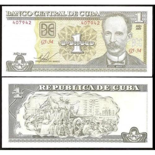CUBA 1 Peso 2009