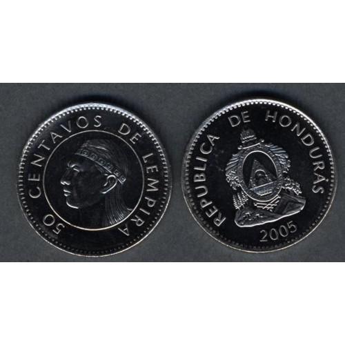 HONDURAS 50 Centavos 2005