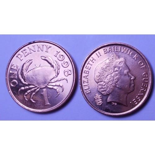 GUERNSEY 1 Penny 1998
