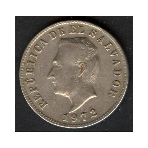 EL SALVADOR 5 Centavos 1972