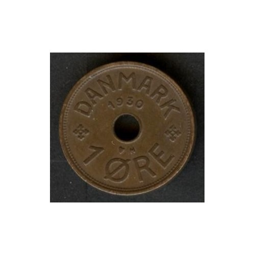 DENMARK 1 Ore 1930