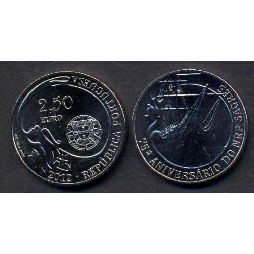 PORTUGAL 2,50 Euro 2012...