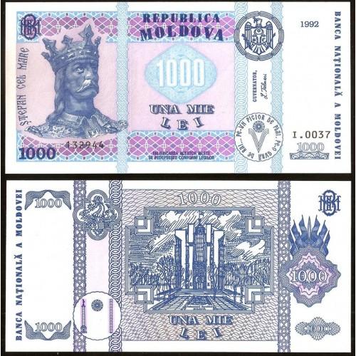 MOLDOVA 1000 Lei 1992