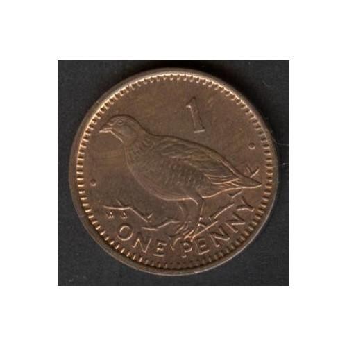 GIBRALTAR 1 Penny 1992 AA