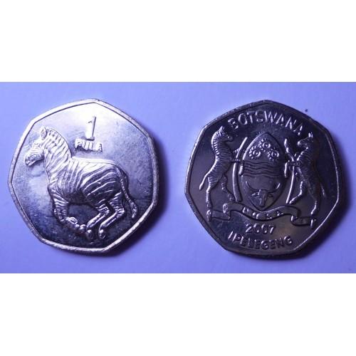 BOTSWANA 1 Pula 2007