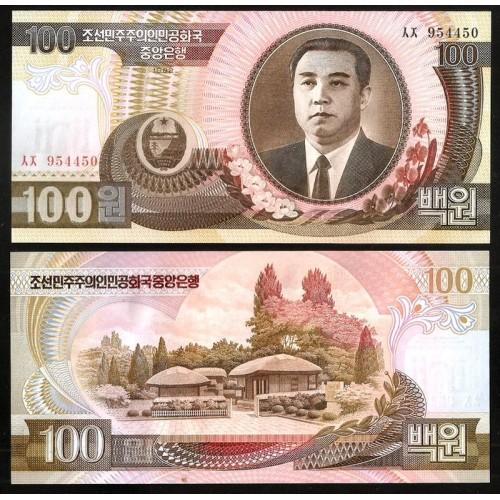NORTH KOREA 100 Won 1992