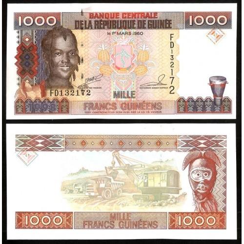 GUINEA 1000 Francs 1998