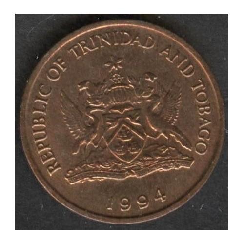 TRINIDAD & TOBAGO 1 Cent 1994