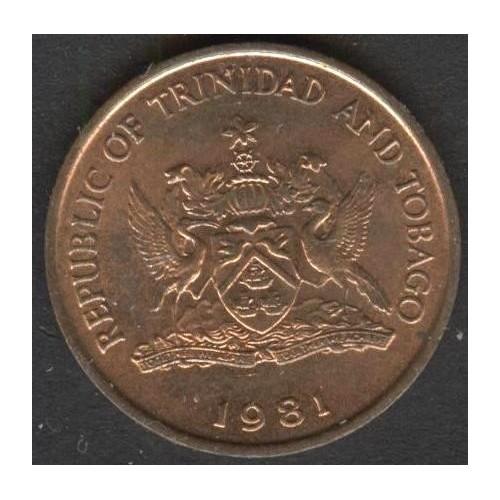 TRINIDAD & TOBAGO 1 Cent 1981