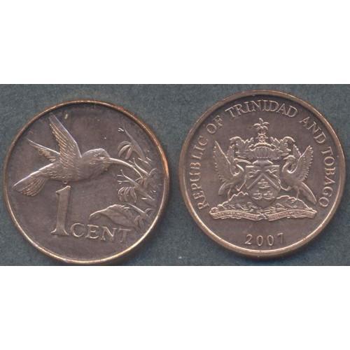 TRINIDAD & TOBAGO 1 Cent 2007