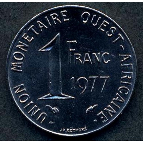 WEST AFRICAN STATES 1 Franc...