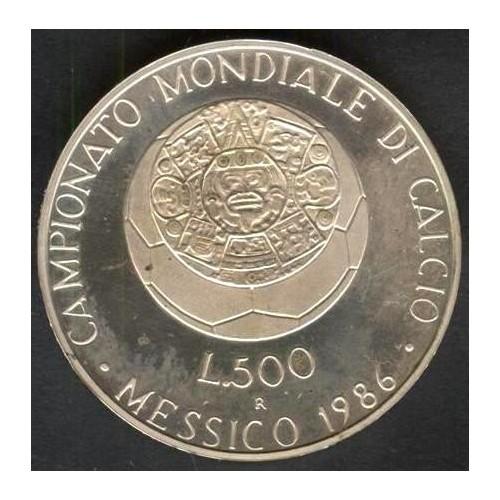 500 Lire 1986 CAMPIONATO...