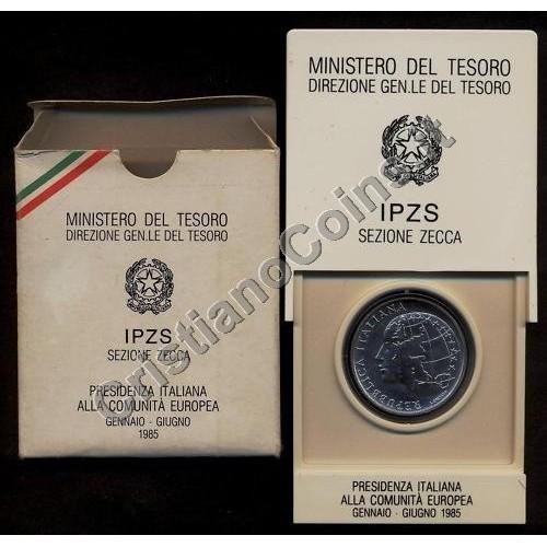 500 Lire 1985 AG PRESIDENZA...