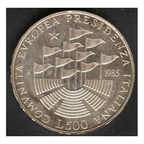 500 Lire 1985 PRESIDENZA CEE