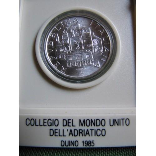 500 Lire 1985 AG MONDO...